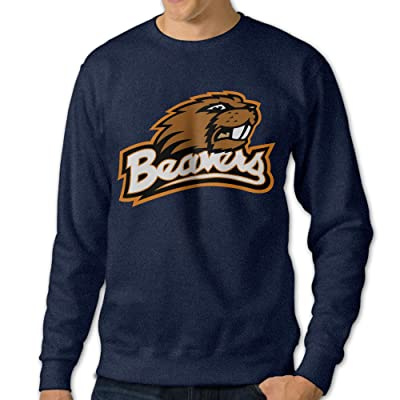 101Dog Oregon State Beavers Mens Pullover-sweaters Navy