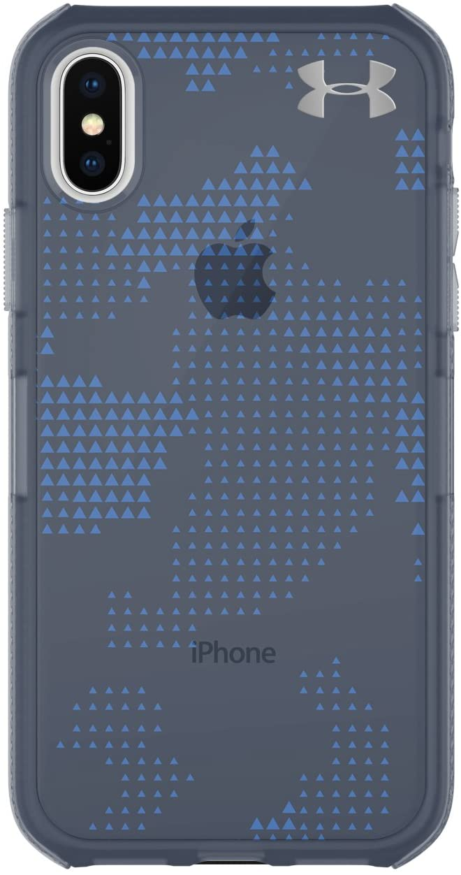 Under Armour UA Protect Verge Case for iPhone X - Translucent Utility Midnight Navy/Mediterranean