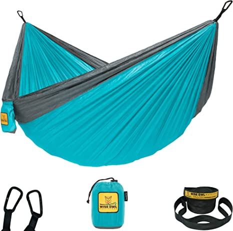 Wise Owl Outfitters Hammock Camping with Tree Straps