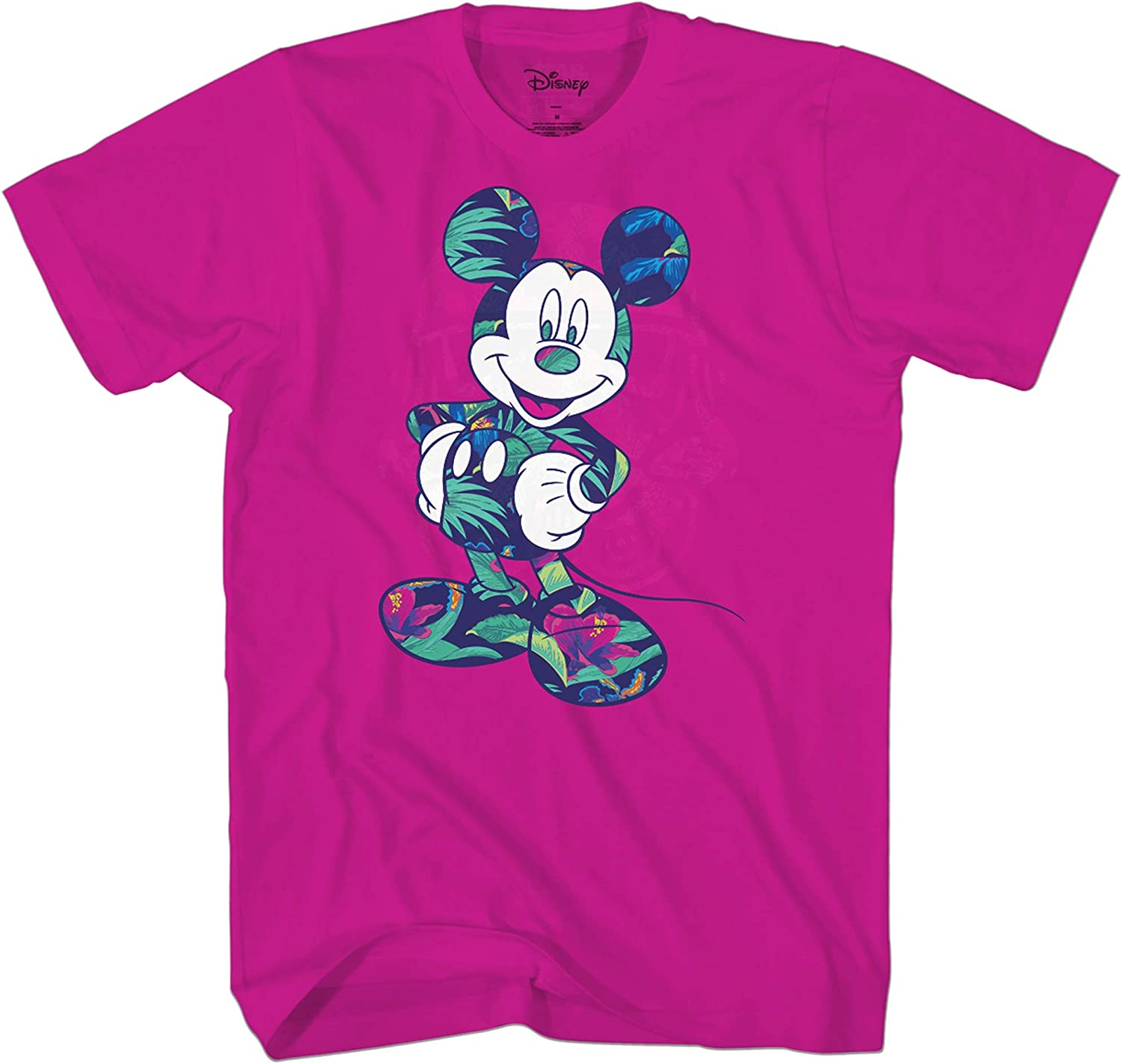 Disney Mickey Mouse Tropical Wash Disneyland World Funny Humor Adult Tee Graphic T-Shirt for Men Tshirt