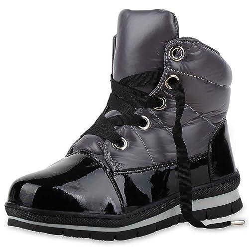 Damen Warm Vita Gefüttert Scarpe Winter Boots Stiefeletten IYgvbf76my