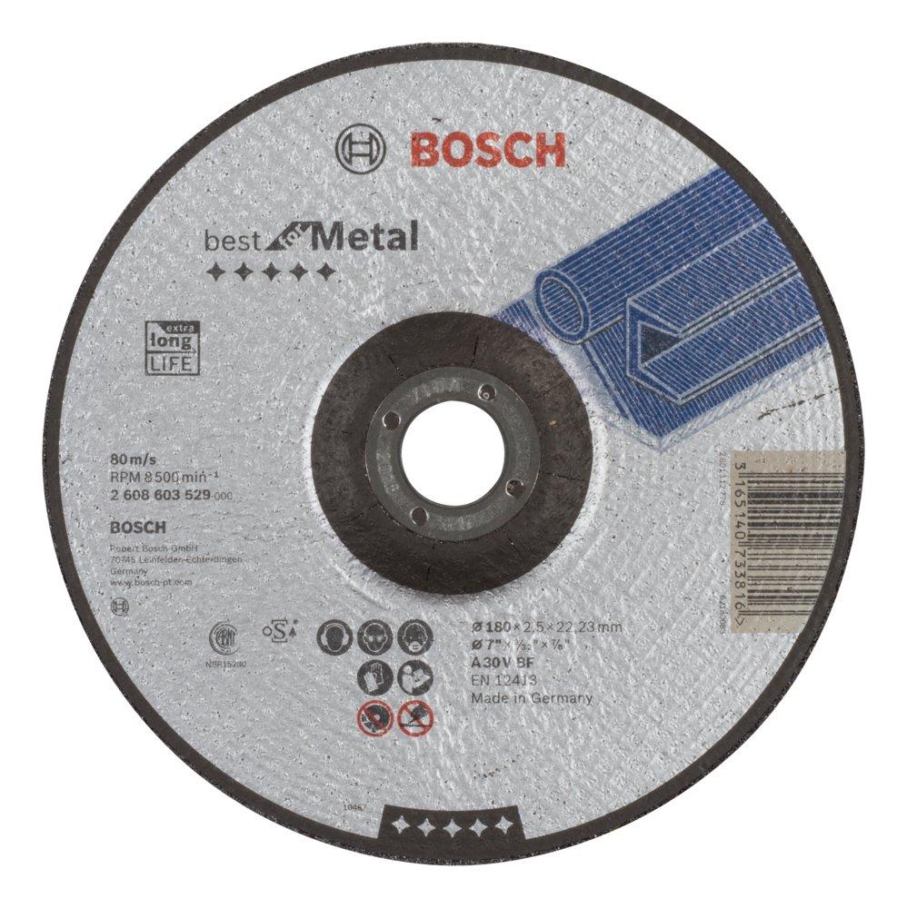 Bosch 2608603529 Disque /à tron/çonner /à moyeu d/éport/é best for metal A 30 V BF c