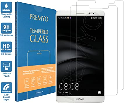 PREMYO 2 Piezas Cristal Templado Protector de Pantalla Compatible ...