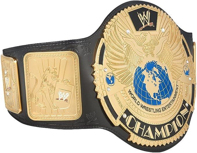 WWE Attitude Era Heavyweight Championship Title Belt WWF WCW ECW Austin Rock HHH