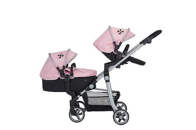 Amazon.es: Silver Cross Cochecito para muñecas Wave: Tejido Vintage Pink. para niños y niñas de 7 a 13 años.: Juguetes y juegos