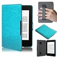 Per Kindle Paperwhite,Amlaiworld premio Copertura astuta di cuoio ultra sottile per il nuovo Amazon Kindle Paperwhite 5
