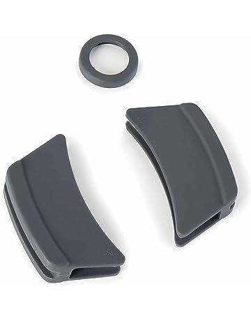 Lacor - Pack de 3 protectores de Silicona para Cacerola Lacor