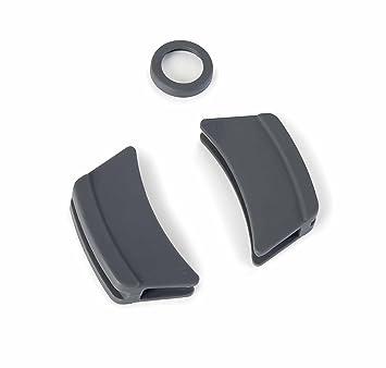 Lacor R25935G Pack De 3 Protectores De Silicona Para Cacerola Con Tapa Oval Fundición Gris: Amazon.es: Hogar