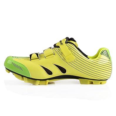 SIDEBIKE Zapatillas de MTB - Zapatillas Unisex Suelas de Carbono: Amazon.es: Zapatos y complementos
