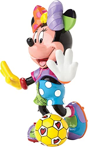 Enesco Disney by Britto Minnie Soccer Figurine, 6
