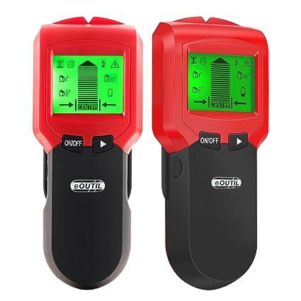 INKERSCOOP - Detector de pared de metal, buscador de pernos, escáner de precisión multifuncional