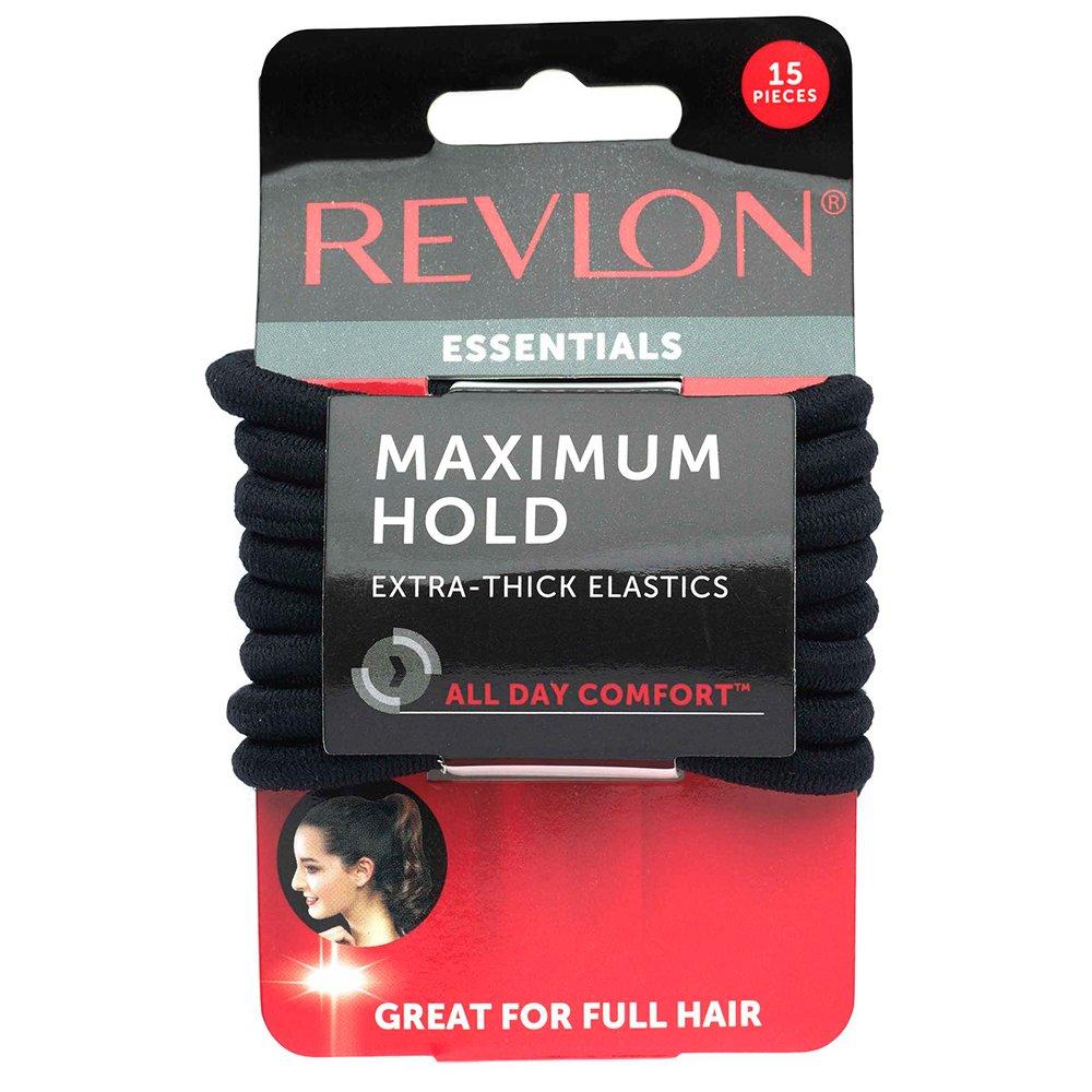 Amazon.com   Revlon Extra Long Black Hair Elastics 1b28e521a49