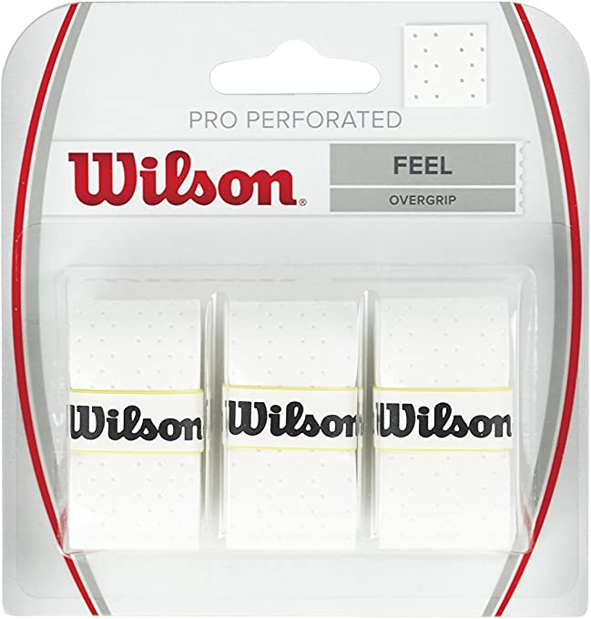 Wilson Pro Overgrip Perforated Empuñadura, 3 unidades, unisex ...
