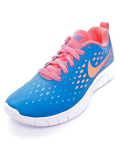 premium selection 7bcc5 b63c9 Nike Girls Free Express Running Shoes-Military Blue-5