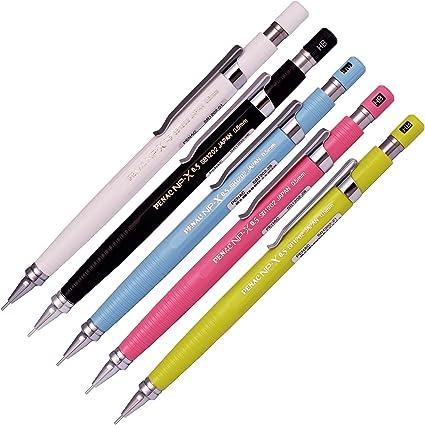 Penac NP-X Pastel portaminas redacción lápices (Pack de 5): Amazon.es: Oficina y papelería