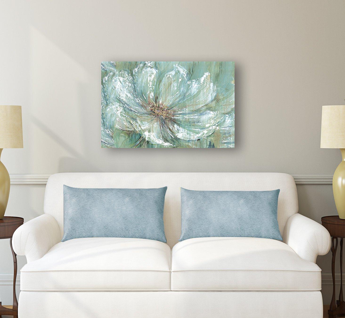 Amazon.com: Portfolio Canvas Decor TEAL SPLASH by Carson Large ...