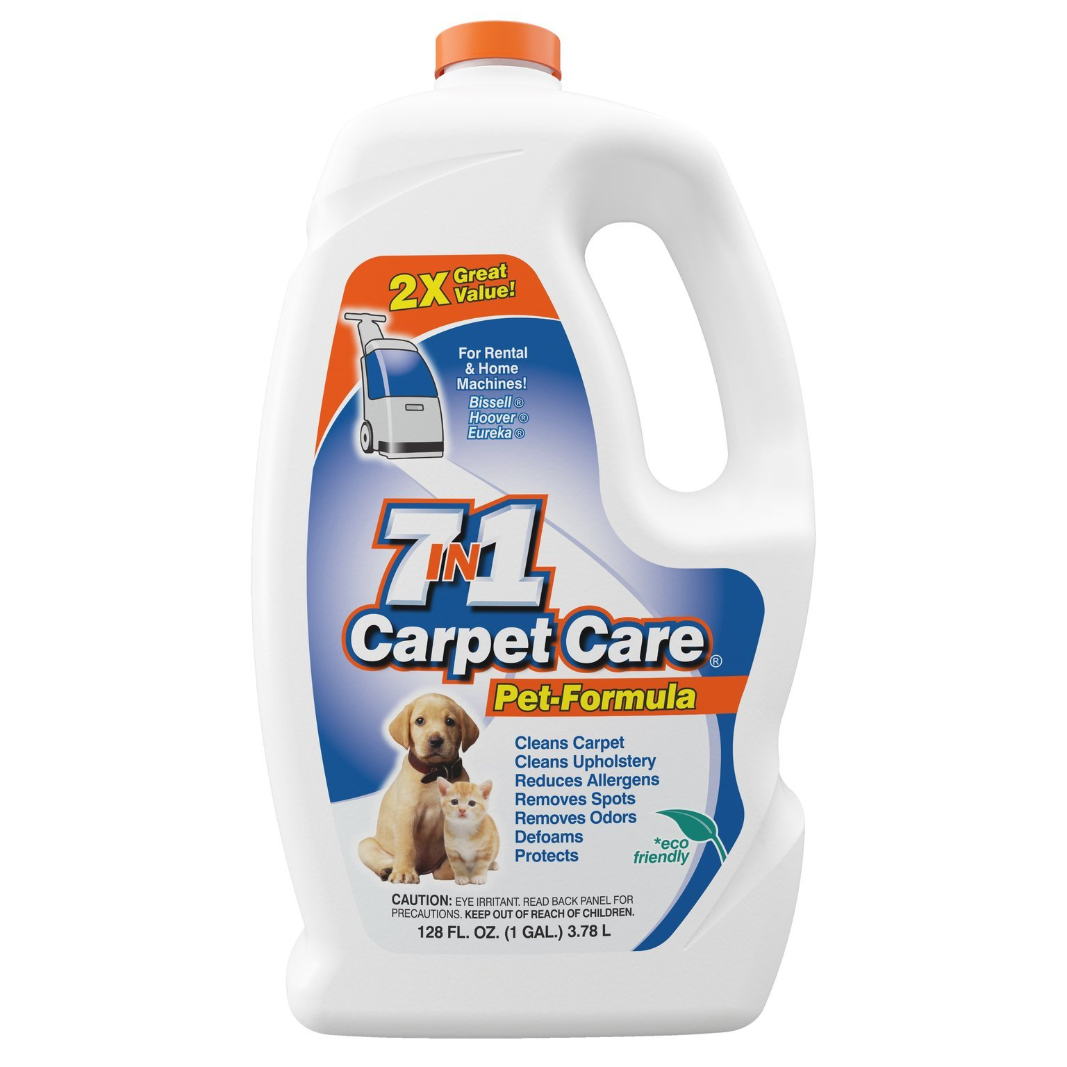 7in1 Carpet Care Pet Formula Carpet Cleaning Solution (1 Pack)
