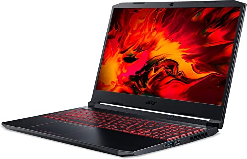Acer Nitro 5 AN515 44 R5K7 39 6 cm 15 6 Zoll Full HD IPS matt Gaming Laptop AMD Ryzen 5 4600H 8 GB DDR4 RAM 512 GB PCIe SSD NVIDIA GeForce GTX 1650Ti Linux eShell schwarz rot