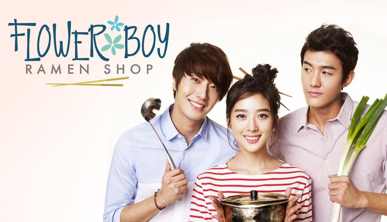Flower boy ramyun shop drama