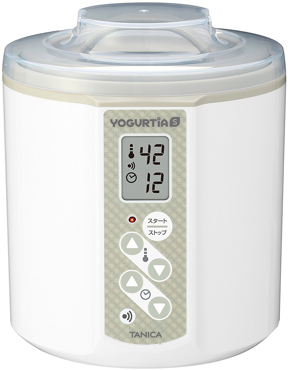 TANICA Yogurt Maker YOGURTiAS YS-01W (White) by TANICA)
