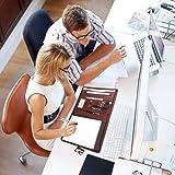 Leathario File Folder Padfolio Writing Pad Business