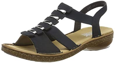 Rieker Women's 62850 14 Closed Toe Sandals