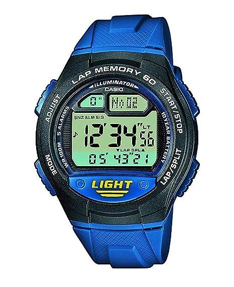 798c0be55cbb Casio Reloj de Pulsera W-734-2AVEF  Amazon.es  Relojes