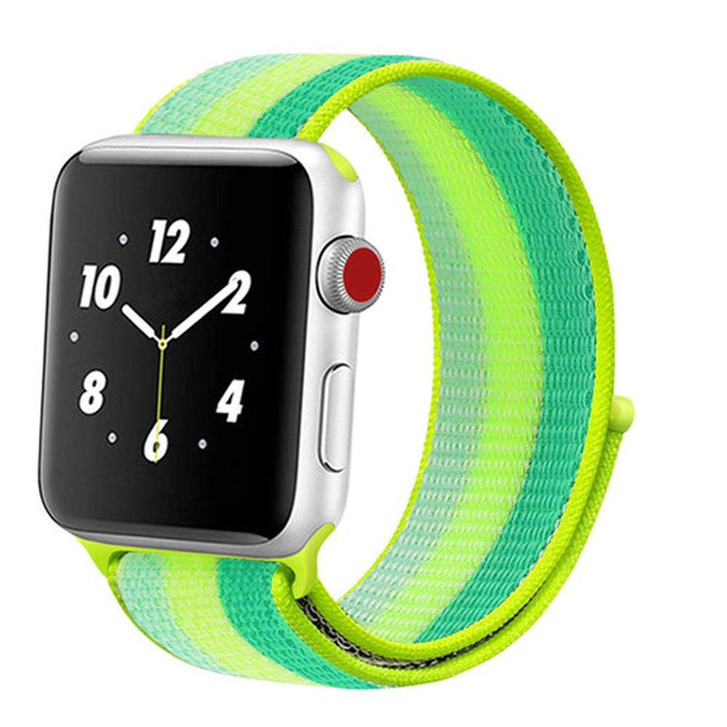 Amazon.com: Strap for Watch Band 44 mm 38mm Nylon Watch 4/3 ...