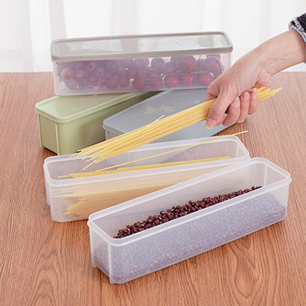 Guardians Pasta Box Kitchen Refrigerator Noodle Box Plastic Cover Food Storage Container