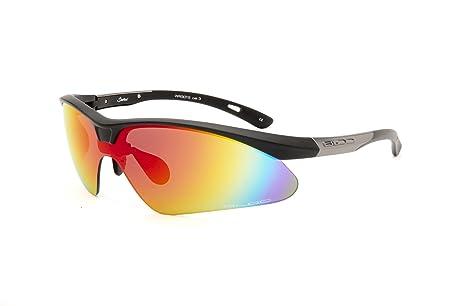 982a1b54e1 Bloc Eyewear WR301 S Shadow Single Sunglasses - Black  Amazon.co.uk ...