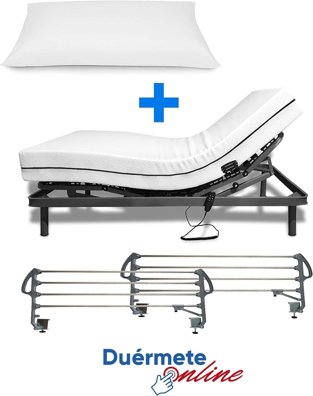 cama eléctrica articulada reforzada