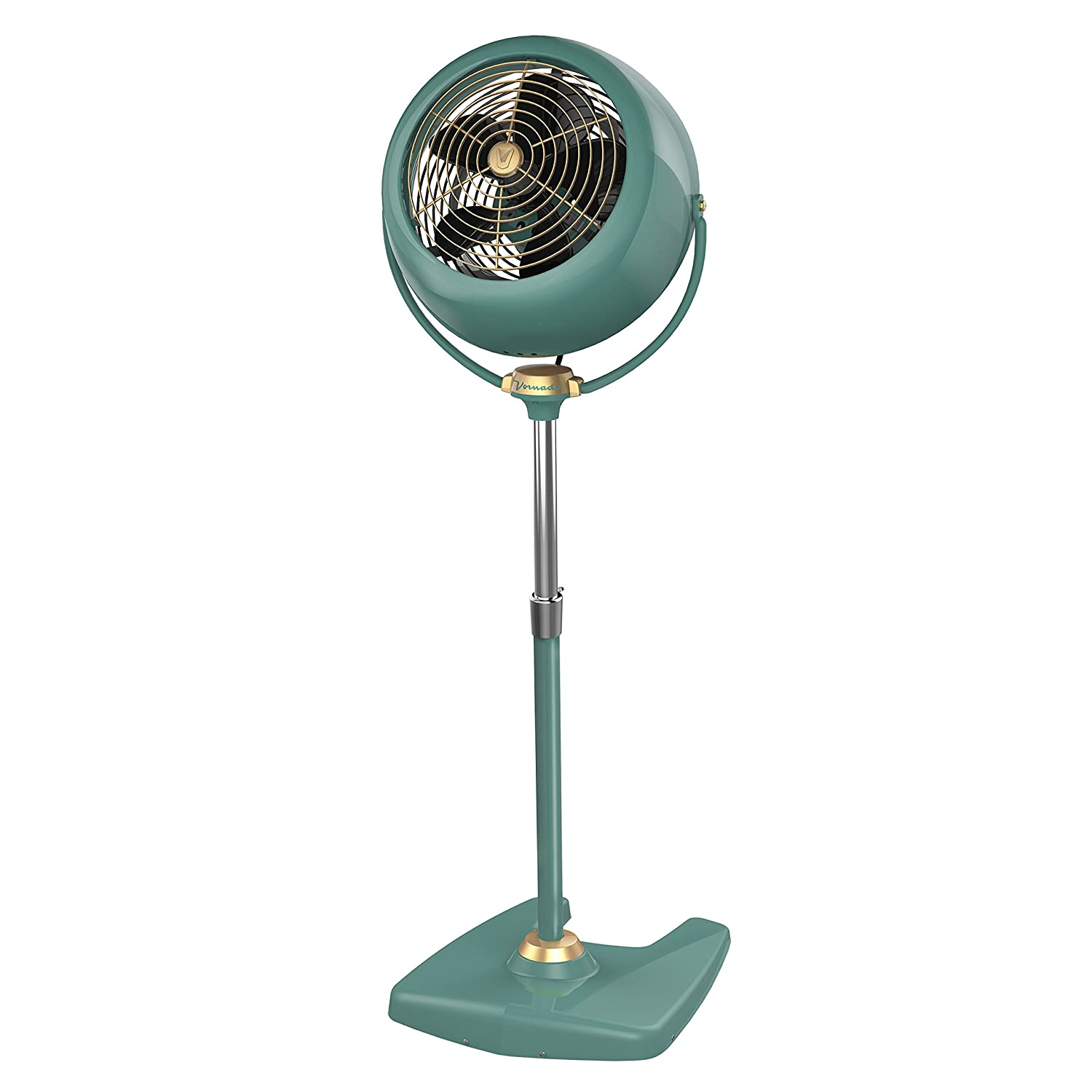 Vornado VFAN Sr. Pedestal Vintage Air Circulator Fan, Green