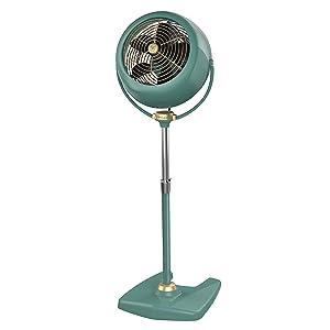 Vornado VFAN Sr. Pedestal Vintage Air Circulator Fan, Green