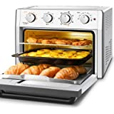 Air Fryer Toaster Oven Combo, WEESTA 7-in-1 Convection Oven Countertop, 24QT Large Air Fryer with Accessories & E-Recipes, UL