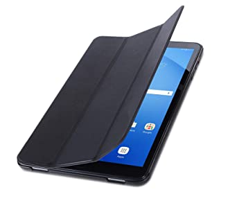 ISIN Funda para Tablet Serie Funda de Premium PU Smart Carcasa para Samsung Galaxy Tab A de 10,1 Pulgadas SM-T580 T585 WiFi 4G LTE Android Tablet ...