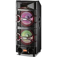 BriteLite Edison Professional DJ-Pro 6000 Woofer System w/ DJ Mixer and Speakers