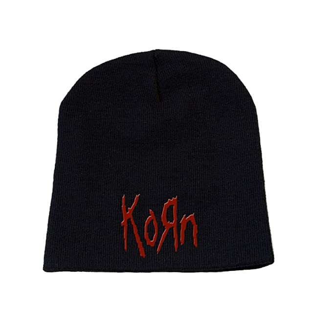 Amazon.com  Korn Logo Official Beanie Hat  Clothing b211703dd3cb