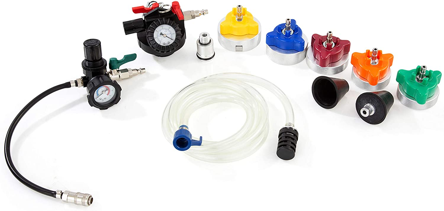 OEM TOOLS 24511 Heavy Duty Cooling System Pressure Test and Refill Kit