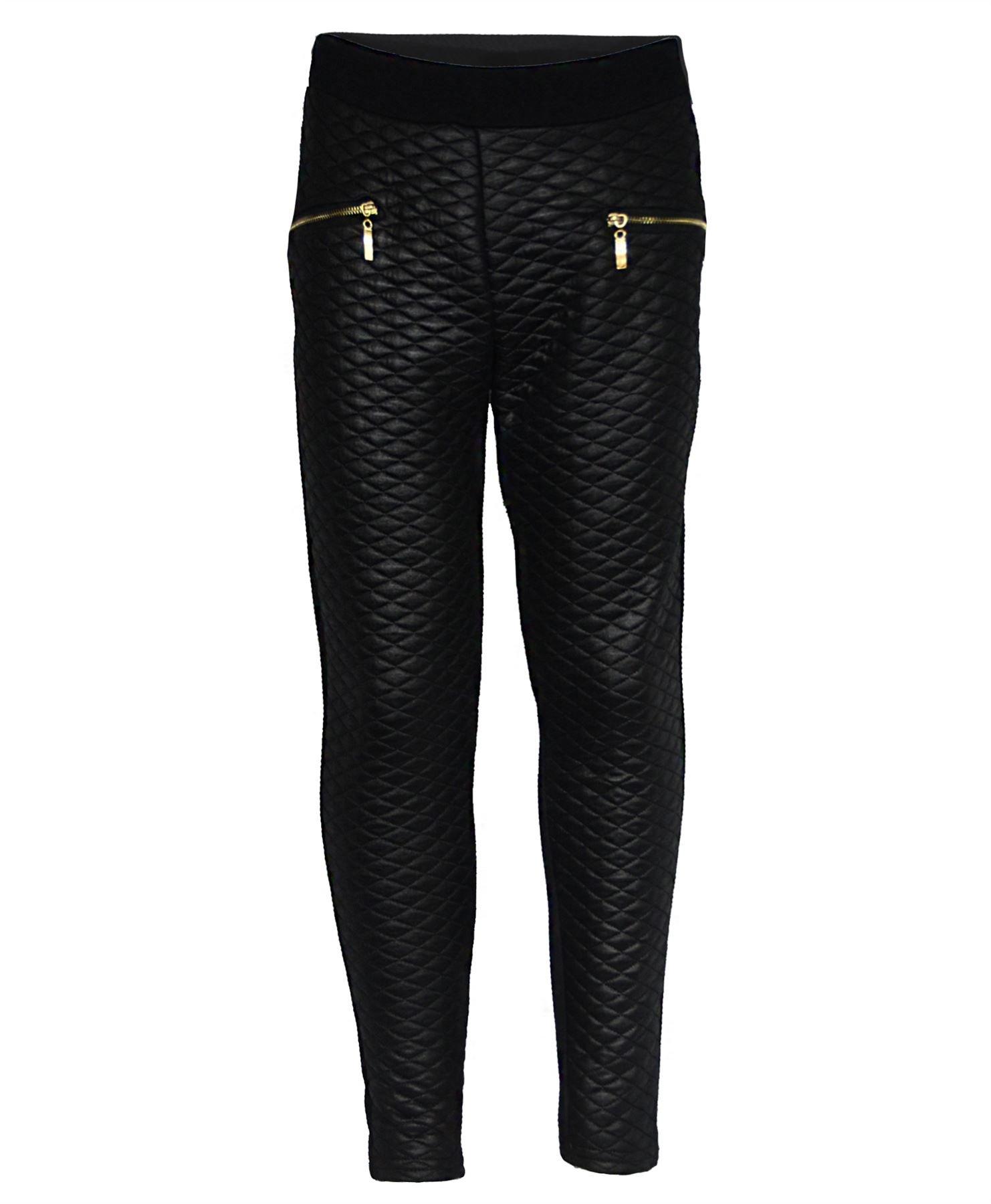 LotMart Girls Blazer Bundle Textured Leggings Style 3 in Mint Black 5-6 Y by LotMart (Image #3)