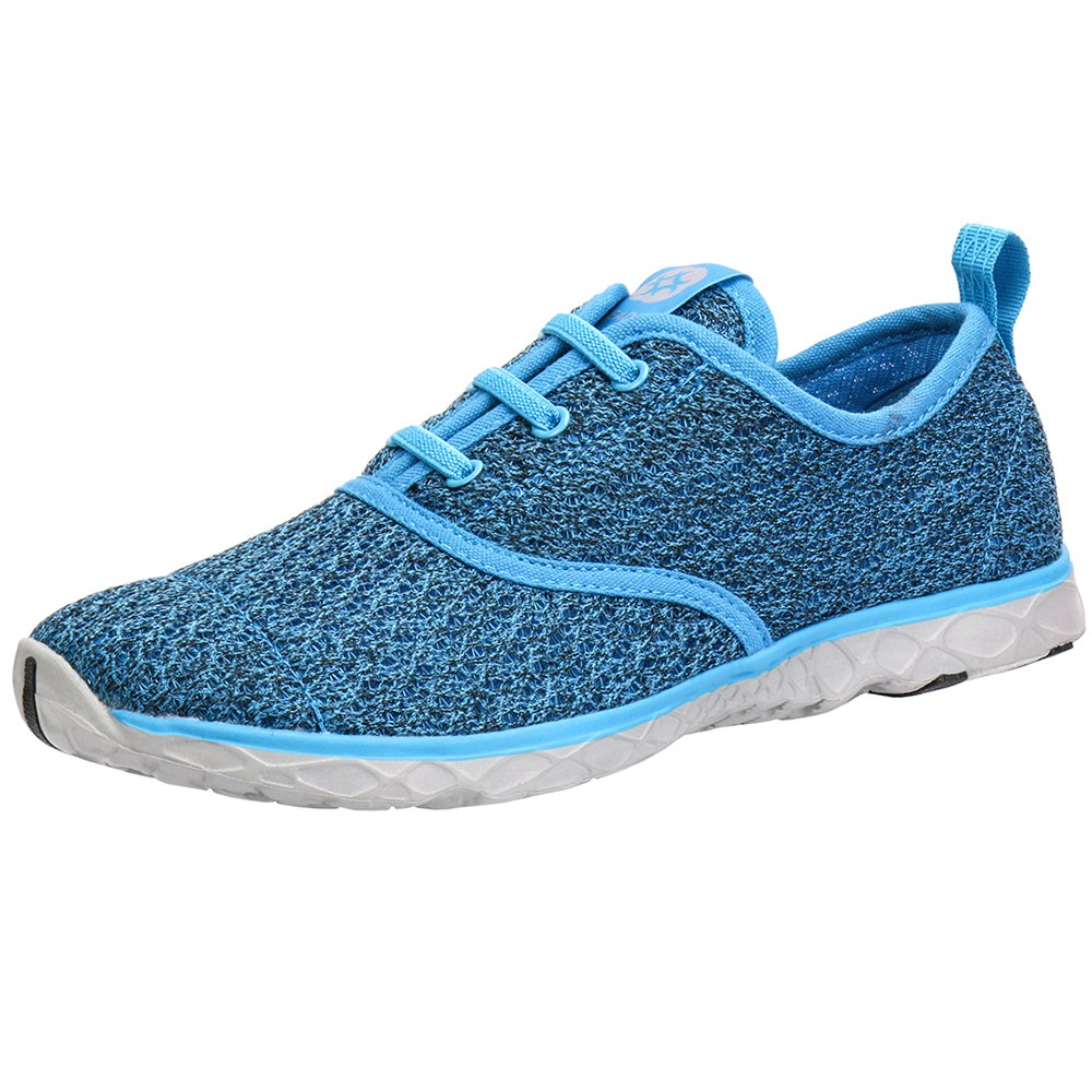 ALEADER Women's Stylish Quick Drying Water Shoes Blue 6 D(M) US/EU 36