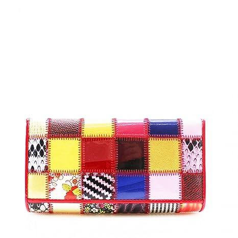 YourDezire - Cartera para mujer multicolor multicolor