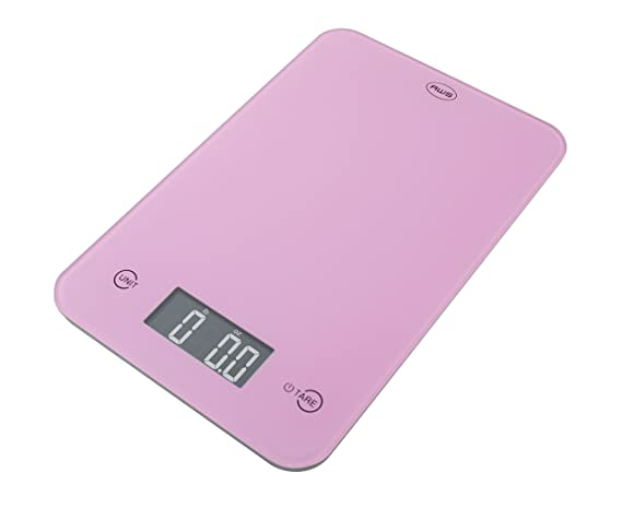 American Weigh Scales ONYX-5K-PK Slim Design Kitchen Scale, 11-Pound by 0.1-Ounce, Pink by American Weigh: Amazon.es: Hogar