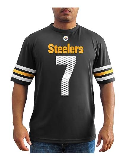 VF LSG NFL Pittsburgh Steelers Ben Roethlisberger Men s 7 Great Game  Fashion Top 0d53c4ddf
