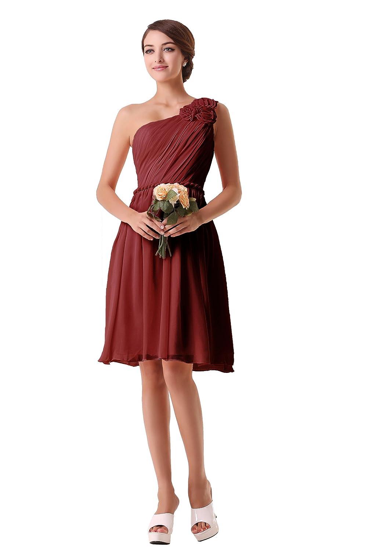 Gemütlich Korallen Eine Schulter Brautjungfer Kleid Fotos - Hochzeit ...