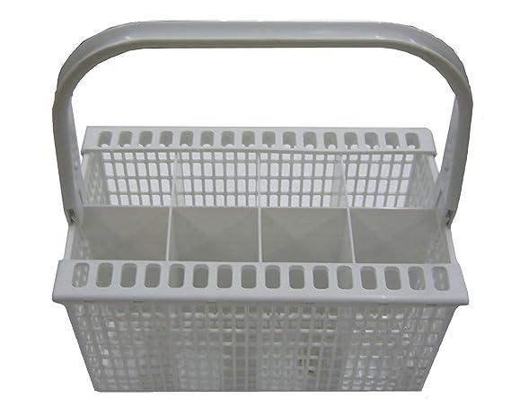 Electrolux - Cesto de cubiertos para lavavajillas, blanco