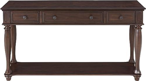 Martin Svensson Home Ashford, Sofa Console Table, Antique Mahogany