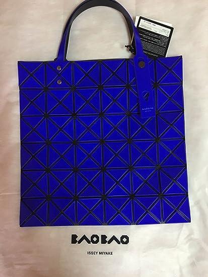 Amazon.com   New Issey Miyake Bao Bao Lucent-1 Matt Blue 6x6 Tote Bag    Everything Else f87da6700b