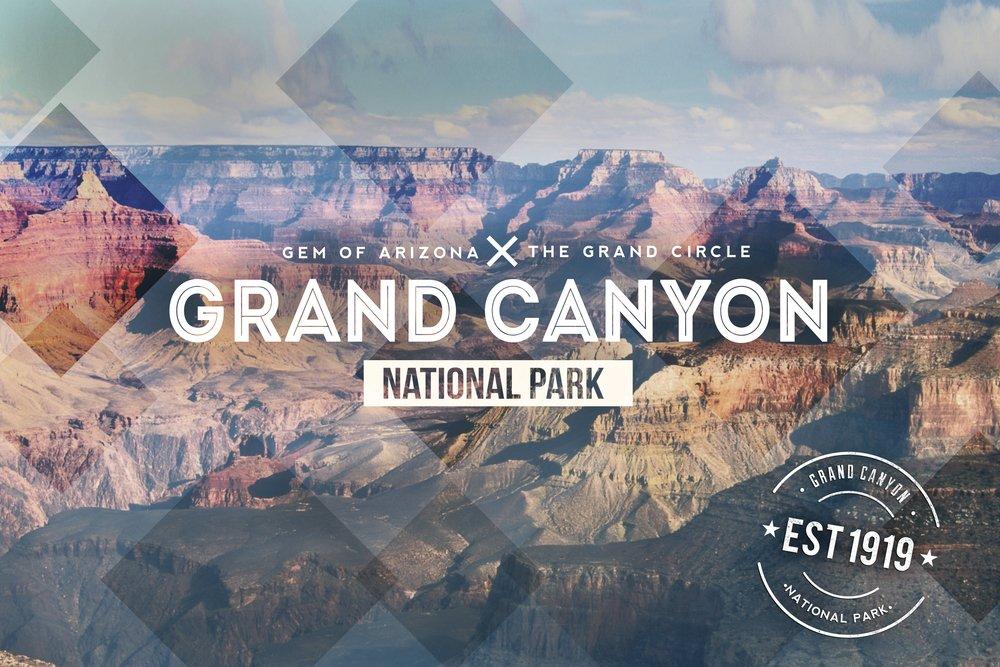 Grand Canyon National Park – ラバースタンプ 36 x 54 Giclee Print LANT-52938-36x54 36 x 54 Giclee Print  B017E9TB9U