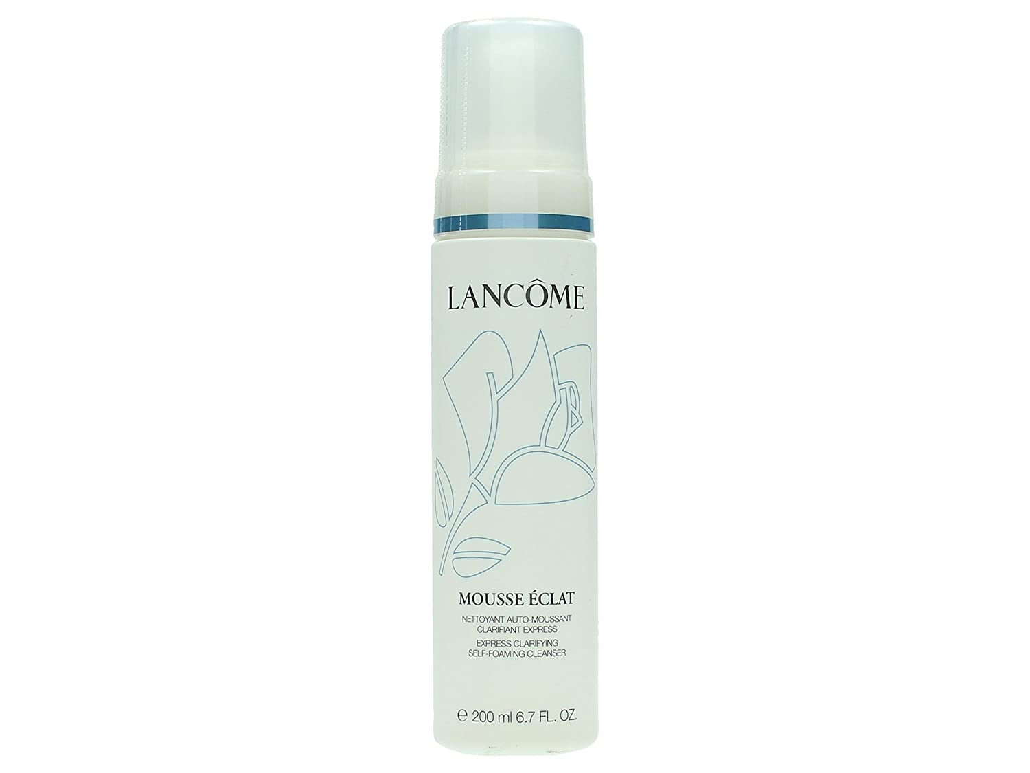 Lancome Mousse Eclat, Express Clarifying Self-Foaming Cleanser, Donna, 200 ml Lancome Italy KL43030