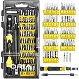 Screwdriver Set, Magnetic Driver Kit, Professional Repair Tool Kit, 60 in 1 with 56 Bits Precision Screwdriver Kit…